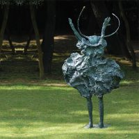 Bronze Martine Kerbaol 140cm hauteur